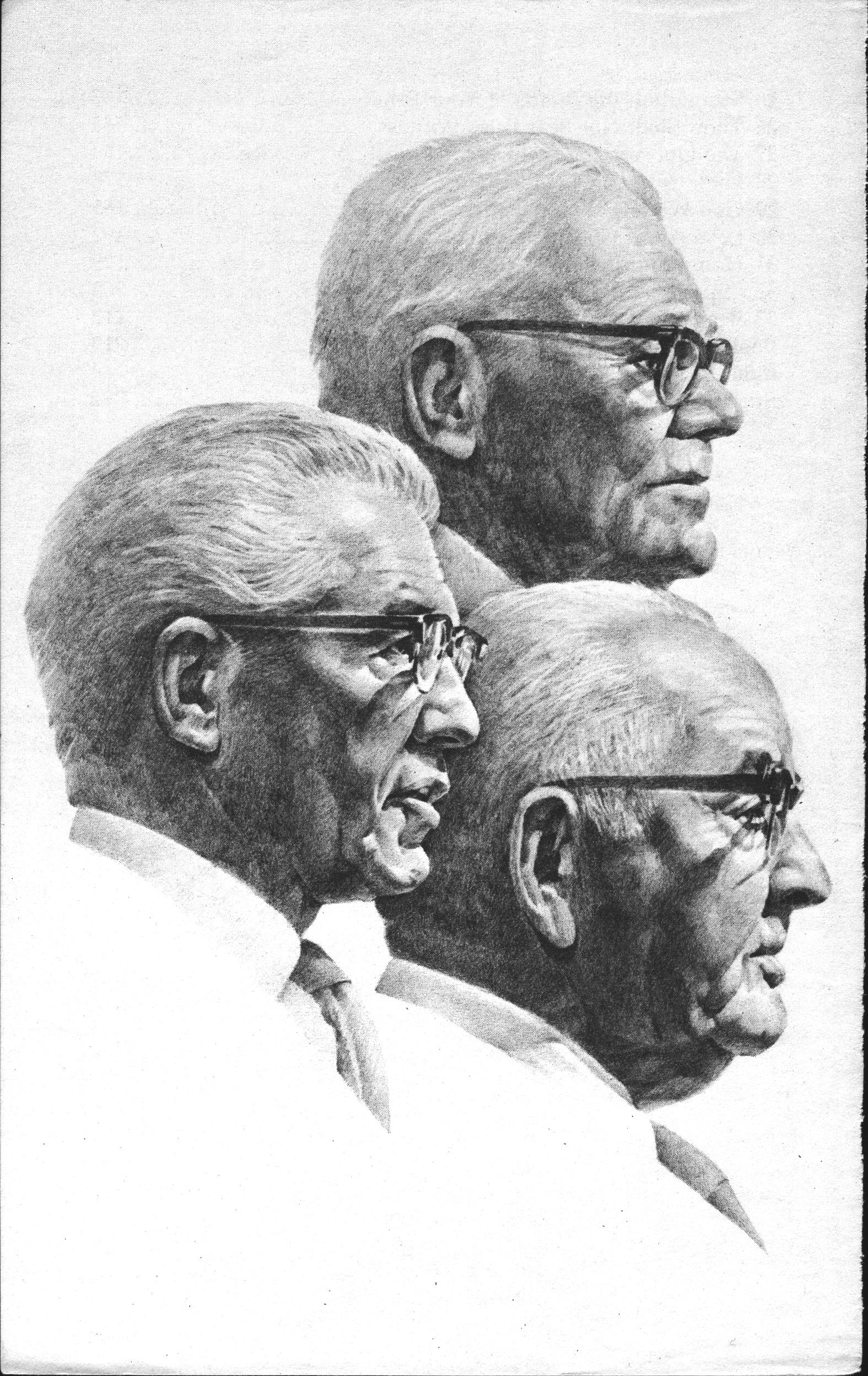 Portrait of 1979 First Presidency, page vi.